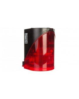 Syrena wielotonowa z sygnalizacją błyskową LED podwójną czerwoną 230V AC 444.100.68