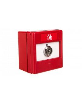 Przełącznik kluczykowy 2-pozycyjny 1Z 1R IP24D CXK/2/R/BB/4T 4942010FUL-0047