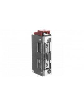 Elektrozaczep symetryczny z prowadnicą i sygnalizacją niedomkniętych drzwi, rewersyjny 12V DC MINI OR-EZ-4023