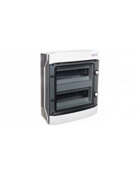 Rozdzielnica modułowa PV 2x12 natynkowa /transparentna/ UV 1500V DC IP65 ECH-24PT-s DIDO 001101067