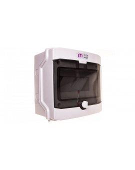 Rozdzielnica modułowa PV 1x8 natynkowa /transparentna/ UV 1500V DC IP65 ECH-8G DIDO 001101061