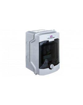 Rozdzielnica modułowa PV 1x4 natynkowa /transparentna/ UV 1500V DC IP65 ECH-4G DIDO 001101060