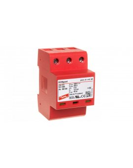 Ogranicznik przepięć C Typ 2 PV 1000V DC 3P 12, 5kA 4kV DEHNguard compact YPV SCI 1000 950530