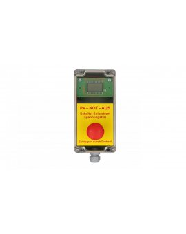 Przycisk bezpieczeństwa do rozłącznika p.poż FWS-112 Taster
