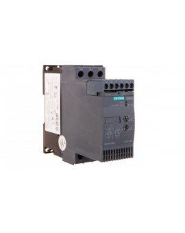 Softstart 3-fazowy 200-480VAC 25A 11kW/400V Uc=24V AC/DC S0 3RW3026-1BB04
