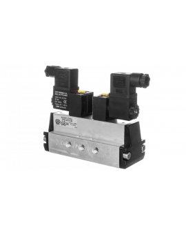 Zawór rozdzielający 230V AC 1MPa DTE 5/2 G1/8 22.0201.5218J
