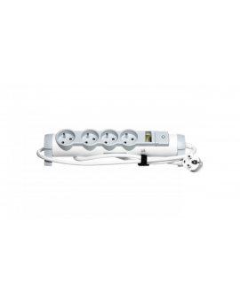 HELMO Przedłużacz komfort z wyłącznikiem 4x2P+Z 1, 5m /Safe Control/ 50091
