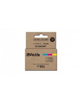 Tusz ACTIS KH-901CR (zamiennik HP 901 CC656AE Standard 21 ml kolor)