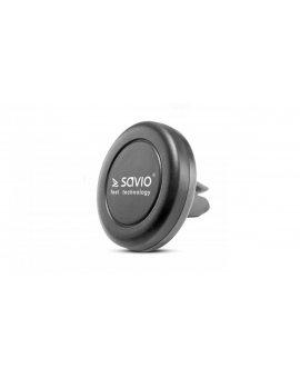 Uchwyt samochodowy magnetyczny SAVIO SAVCH-01 (kolor czarny)
