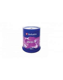 Płyta DVD Verbatim 43551 (4, 7GB 16x 100szt. Cake)