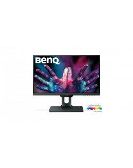 Monitor BenQ PD2500Q 9H.LG8LA.TSE (25 IPS/PLS 2560x1440 DisplayPort, HDMI, miniDisplayPort kolor szary)