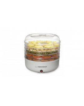 Suszarka do grzybów, warzyw i owoców Esperanza Champignons EKD001 (125W kolor biały)