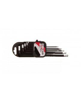 Zestaw kluczy imbusowych 1, 27-10 mm YT-0561