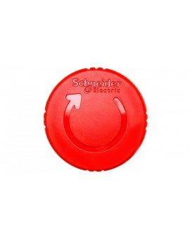 Napęd przycisku bezpieczeństwa czerwony przez obrót bez podświetlenia ZB4BS844