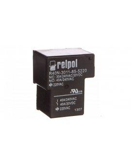 Przekaźnik przemysłowy 1P 40A 220V AC PCB R40N-3011-85-5220 2614752