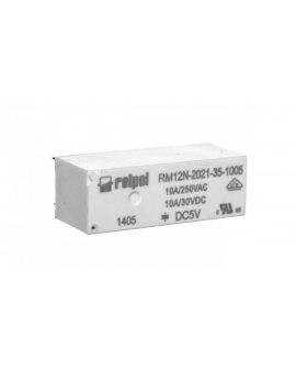 Przekaźniki miniaturowy 1Z 10A 5V DC PCB RM12N-2021-35-1005 2614962
