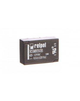 Przekaźnik subminiaturowy-sygnałowy 2P 0, 5A 12V DC PCB RSM850B-6112-85-1012 2611714