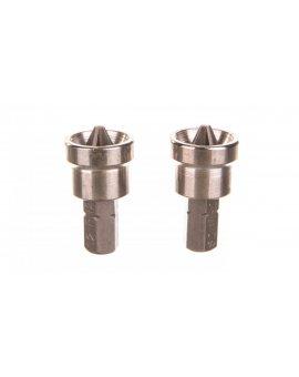 Końcówki wkrętakowe PH2x25mm 06-040 /2 szt./