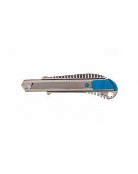 Noż z ostrzem łamanym 18 mm odlew cynk 1 ostrze SKS HT4C606