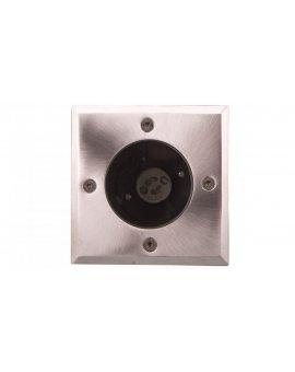 Oprawa najazdowa ALFA-K GU10 AC 220-240V 50/60Hz INOX ON-ALFAKGU10-06
