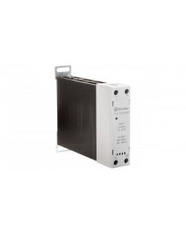 Modułowy przekaźnik SSR na szynę DIN 1Z 30A 60-240V AC, załączanie w zerze, sterowanie 24V DC 77.31.9.024.8050