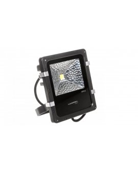 Projektor LED PRO 10W czarny 1000lm 4000K 230V LAMPRIX TECH LP-12-015