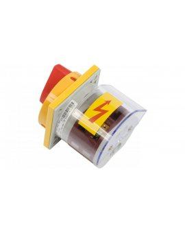 Łącznik krzywkowy awaryjny 0-1 3P 40A do wbudowania 4G40-10-U S25 63-241677-041