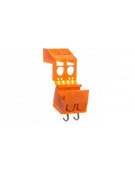 Złączka do transformatorów 2x 1, 5-2, 5mm2 pomarańczowa 200-605/999-991