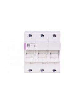 Rozłącznik bezpiecznikowy cylindryczny 3P 50A 14x51mm VLC 002564000