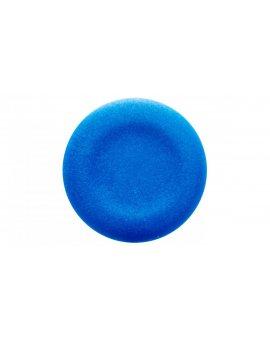 Wkładka do przycisku 22mm płaska niebieska bez opisu ZBA6
