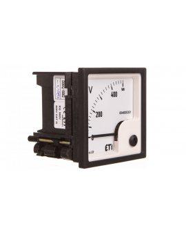 Woltomierz analogowy tablicowy 500V klasa 1, 5 72x72mm EQ72 004805351