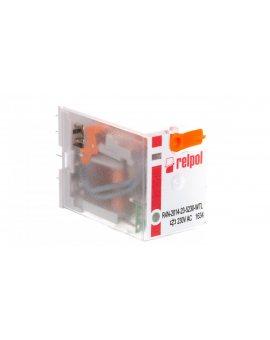 Przekaźnik przemysłowy 4P 230V AC IP40 AgNi R4N-2014-23-5230-WTL 860414