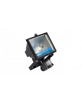 Projektor halogenowy 500W R7s IP44 Ikl. symetryczny z czujnikiem ruchu HZD-101 0
