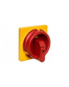 Napęd drzwiowy czerwono-żółty IP66 do rozłączników OT16-125F OZ331SPRY 1SCA113097R1001
