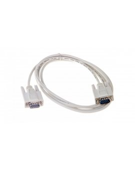 Kabel transmisyjny szeregowy RS232 Sub-D9 (M) - Sub-D9 (M) 3m beżowy