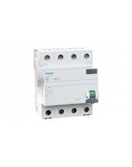 Wyłącznik różnicowoprądowy 4P 25A 0, 03A typ AC 5SV4342-0