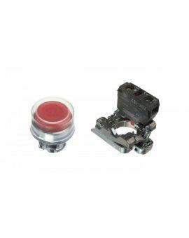 Przycisk sterowniczy 22mm czerwony z samopowrotem 1R XB4BP42