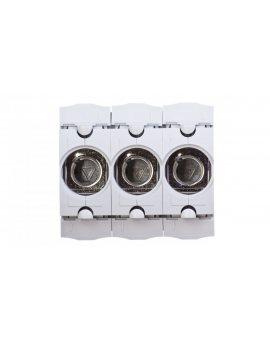 Gniazdo bezpiecznikowe na szynę 3P D01 16A 400V SIS/D01/3 LD047