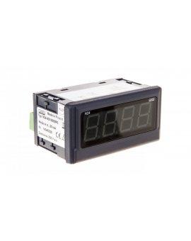 Amperomierz cyfrowy 4 cyfr wejście DC 4-20mA zasilanie 230V AC bez jednostki N24 S210000P0