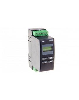Regulator temperatury na szynę wejście PT100 0-250st.C wyjście główne przekaźnikowe wyjście alarmowe 2 przekaźniki zasilanie 230