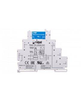 Przekaźnik interfejsowy 1Z 6A 24VAC/DC AgSnO2 PIR6W-1PS-24VAC/DC-O 857212