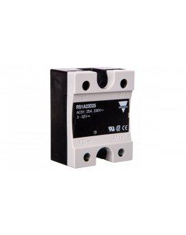 Przekaźnik półprzewodnikowy jednofazowy 25A 230V AC 4, 5-32V DC RS1A23D25 2603001