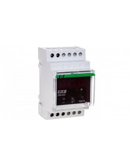 Ogranicznik poboru mocy jednofazowy do 10kW 1sek-3min z funkcją przekaźnika napięciowego OM-633