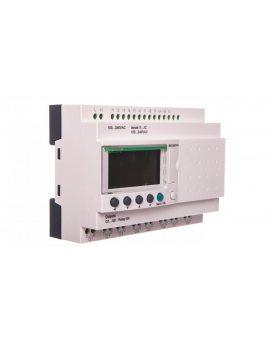 Przekaź.progamowalny 12we, 8wy 240V AC RTC/LCD ZELIO LOGIC SR2B201FU