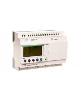 Sterownik programowalny 16wej 10wyj 24V DC RTC/LCD ZelioSR3B262BD