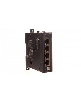 Moduł sieciowy Ethernet switch TM4 Modicon TM4ES4