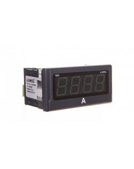 Amperomierz cyfrowy 4 cyfr wejście AC 0-5A AC zasilanie 230V AC jednostka A N24 Z510300P0
