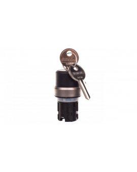 Przełącznik z kluczem RONIS 22mm okrągły tworzywo SB30 2 klucze 2poz 3SU1030-4BF01-0AA0