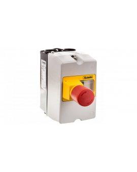 Obudowa do montażu powierzchniowego IP65 do SM1P szerokość 80mm w komplecie przycisk awaryjnego zatrzymania SM1Z1702P