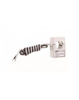 Przekładnik prądowy 100/5A kl.1 otwierany otwór 24x24mm przewody długości 1m DM1TMA0100